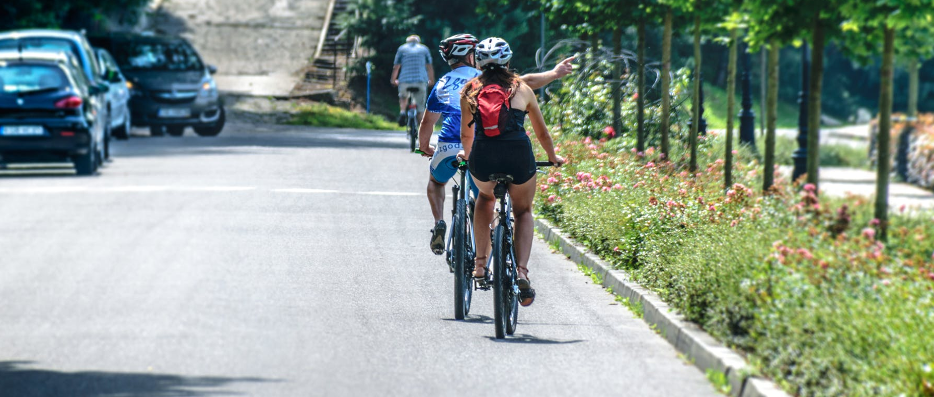 poster image 10 raisons d'aller au boulot à vélo dès aujourd'hui. Un déplacement plus rapide - 10 raisons d'aller au boulot à vélo dès aujourd'hui.
